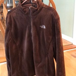 LIKE NEW.. North Face Ladies Jacket. Brown..XL